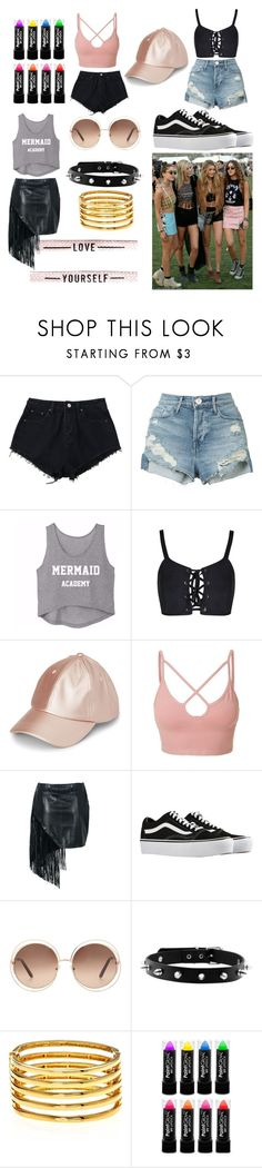 """Untitled #49"" by bettina-agoston on Polyvore featuring 3x1, LE3NO, Vans, Chloé and Kenneth Jay Lane"