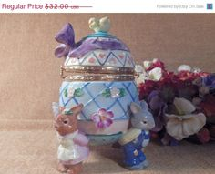 "I added ""Ceramic Egg Trinket Box Easter"" to an #inlinkz linkup!https://www.etsy.com/listing/228159064/ceramic-egg-trinket-box-whimsical-bunny?ref=shop_home_active_17"