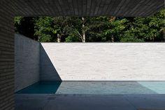 | POOLSIDE | #details of #zeroedge #pools #Vincent Van Duysen - VB Residence, St Martens Latem 2007