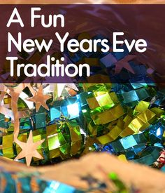 Check out this fun new years eve tradition you can do with your family and friends.