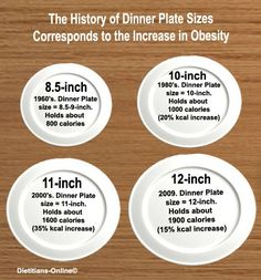 Average dinner plate size. | Love it!!! | Pinterest | Portion ...
