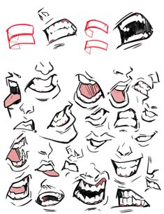 Anatomy Drawing Tutorial picolo в Твиттере: «Teeth ✨… Drawing Reference Poses, Drawing Poses, Design Reference, Drawing Tips, Anatomy Reference, Drawing Ideas, Anatomy Art, Anatomy Drawing, Boca Anime