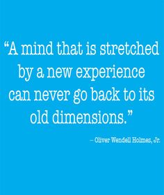New Experiences - Inspirational Quotes