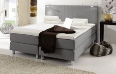 34 besten boxspringbetten das plus an schlafkomfort bilder auf pinterest woody m bel bett. Black Bedroom Furniture Sets. Home Design Ideas