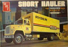 Short Hauler model kit box art | AMT