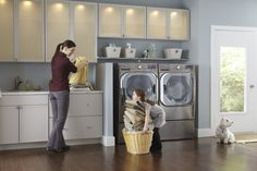 LG Washer/Dryer at Plugs Appliance Center