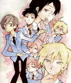 ouran highschool host club fan art - Buscar con Google