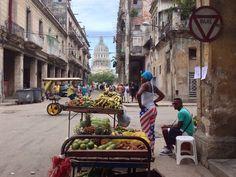 Se puso de moda en La Habana la bandera de las barras y estrellas.