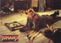 Jumanji - Publicity still of Robin Williams & Bonnie Hunt. The image measures 4040 * 2700 pixels and was added on 25 August Robin Williams Jumanji, Jumanji 1995, Jumanji Movie, Bonnie Hunter, Jonathan Hyde, David Alan Grier, Bebe Neuwirth, Star Wars, Le Web