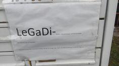 #Legida war gestern - heute kommt: #LeGaDi!  #Leipziger #Gastronomie #Dienstleistung und #Service GmbH in Eutritzsch!  Ich finde es #genial!