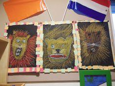 Kern 10: knutselen met thema museum van de leeuw Big Top Circus, Circus Theme, Lions, Holland, Safari, Crafts For Kids, Preschool, Museum, Projects