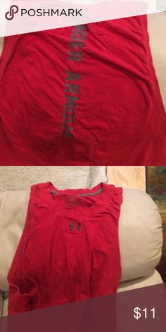 UA heat gear tank top Heat gear tank Under Armour Shirts Tank Tops