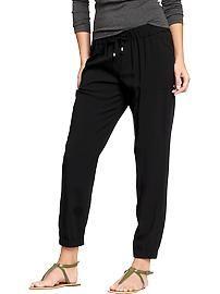Women's Drapey Cinched Pants (26-1/2