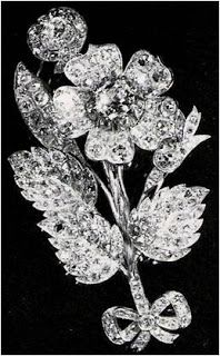 From Her Majesty's Jewel Vault: The Vanguard Rose Brooch belonging to HM Queen Elizabeth II