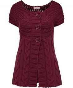 Comfy Cosy Cable Cardigan by Joe Brown's