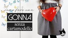 GONNA senza cartamodello DIY | San Valentino in Love