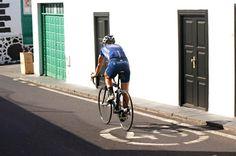 Cyclisme sur la Costa Teguise, Lanzarote - Îles Canaries (Espagne)
