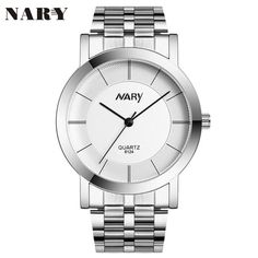 >> Click to Buy << 1PC NARY Luxury Women Single Quartz Stainless Refined Steel Wrist Watches Gift relogio masculino Uhren relojes Fe17 #Affiliate