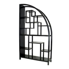 Wayborn Hangchu Display Bookcase Room Divider - Black The Effective Pictures We Offer You About room divider white A quality picture can tell you many things. You can find the most beautiful pictures Office Furniture, Modern Furniture, Home Furniture, Asian Furniture, Furniture Storage, Furniture Ideas, Black Shelves, Wall Shelves, Storage Shelves