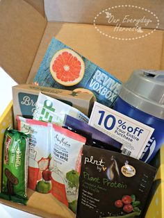 """Unboxing My """"Revive"""" VoxBox from Influenster #ReviveVoxBox #SheaFruitFusion…"""