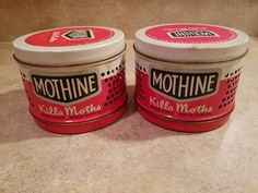 1949 Galree Products Co.  Mothine by 3LittleWitches on Etsy