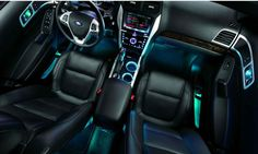 2014 Ford Fusion Interior Lights