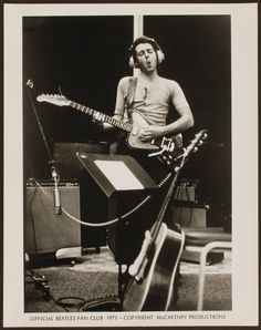Paul McCartney.  RAM Recording Sessions.  1971.