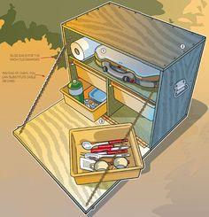"""Build a Chuck Box"" from Boys' Life Magazine"