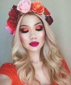 Creative Makeup Looks DIY Makeup ideas Makeup tutorial Makeup tips makeup & beauty makeup, nails, hair, skincare and fashion Makeup Trends, Makeup Inspo, Makeup Art, Makeup Inspiration, Beauty Makeup, Diy Makeup, Cute Makeup, Gorgeous Makeup, Awesome Makeup
