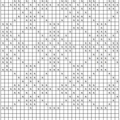 Riešinių raštų schemos