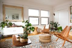 House Tour: A Light-Filled Portland Apartment   Apartment Therapy