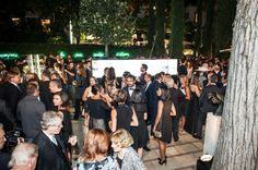 Gli occhiali, icone dell'icona Peggy Guggenheim. Ecco chiccera al party offerto da Safilo a Venezia. Con un'edizione speciale dei mitici occhiali della diva immortale dell'arte