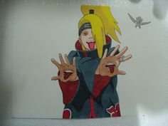Naruto - Deidara - Markers