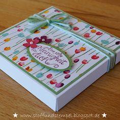 Ein echter Dauerbrenner auf den Workshops ist diese Verpackung für die quadratischen Schokoladentafeln, die jeder kennt. Mit dem Envelope P...