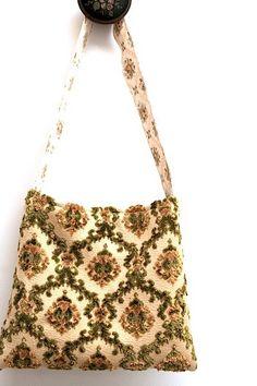 Cut Velvet Bag $65.00