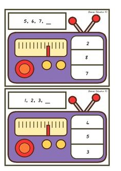 Students select one card at a time and read the number sequence shown. Students then identify the number that comes next in the sequence. Students show their choice by clipping a peg onto the correct answer. Teacher tip: Place a sticker or marking on the back of each correct answer to allow your students to check if they are correct. Includes – 24 Clip Cards and instructions for use.