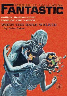 Fantastic. Aug 1964 Cover Art. Emsh