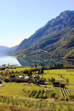 Skjolden, Norway | In the middle of Sognefjord lies the largest fjord in Norway; a tremendously pure, must-see sight for nature admirers of all ilks.