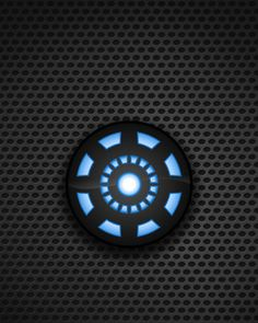 Marvel's Iron Man reactor (as background screen for Apple Watch). If you have an Apple Watch, this image will fit both Apple Watch size screens.