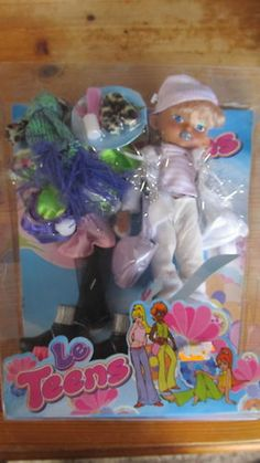 Le Teens doll set 1.5 + 5 listed for