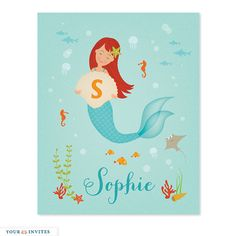 Teal Mermaid Wall Art Zulily Zulilyfinds This Is The Sister That Hangs Over The Door Makes