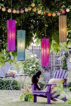 Illuminez votre extérieur ! Creation Couture, Glass Vase, Candles, Instagram, Outdoor, Home Decor, Gardens, Lantern Diy, Vintage Homes