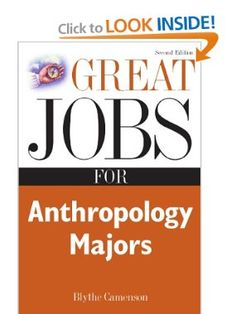 I want to be an anthropologist but is it a stable job?