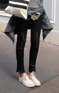 How to Mix Leather Pants into your Wardrobe - Dallas Fashion Trends   Examiner.com