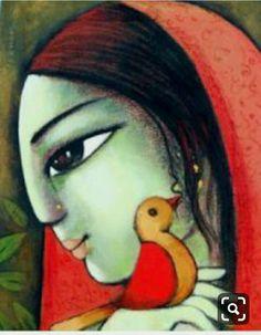 Art Rangoli Deisgn, 2019 Best Collection of Rangoli Design - Fashion Indian Artwork, Indian Folk Art, Indian Art Paintings, Paintings Famous, Krishna Art, Krishna Painting, Indian Contemporary Art, Modern Art, Figure Painting