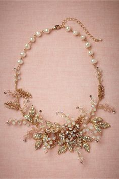 BHLDN | Daily Dose of Gorgeous studio3magazine.com  Daily dose of gorgeous is right!  You can't find beautiful. unique antique necklaces anywhere!