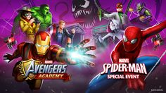 Spider-Man Swings Into Marvel Avengers Academy