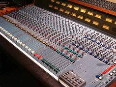 An Early Amek M1000 Recording Console