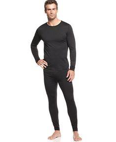 32 Degrees Heat by Weatherproof, BaseLayer Long Sleeve Crew and BaseLayer Legging - Underwear - Men - Macy's