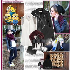 MINION SNEAKERS: NEW LOOK, created by allamess on Polyvore